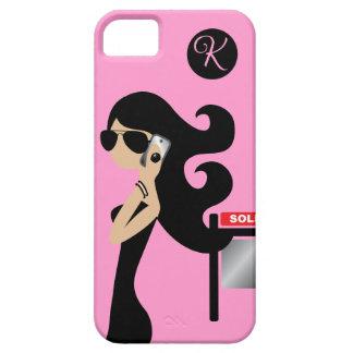 311 Real Estate Fashionista Brunette Aviators iPhone SE/5/5s Case