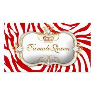 311 Red Hott Queen Business Cards