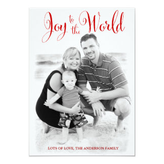 311 Red Joy to the World Card