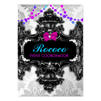 311 Rococo Wonderland Colorful Large Business Cards (Pack Of 100)
