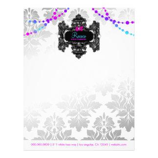 311 Rococo Wonderland Colorful Letterhead
