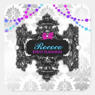 311 Rococo Wonderland Colorful Sticker