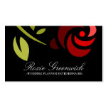 311 ROSE EXTROIDINAIRE Double-Sided STANDARD BUSINESS CARDS (Pack OF 100)