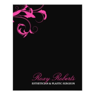 """311 Roxy Solid Pink 4.5"""" X 5.6"""" Flyer"""