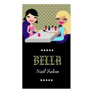 311-SAGE NAIL SALON BUSINESS CARD TEMPLATE