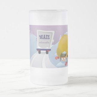 311-Santa Mail at the North Pole - Elf 16 Oz Frosted Glass Beer Mug