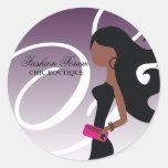 311 Sassy African American Fashionista 2 Sticker