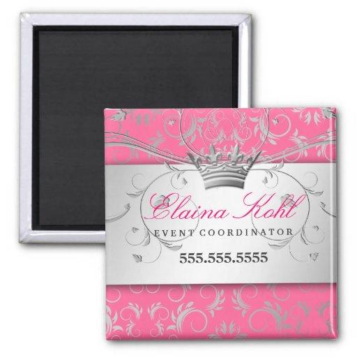 311-Silver adivinan el imán rosado delicioso del n