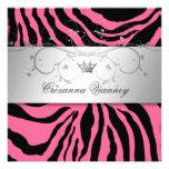 311-Silver adivinan la cebra rosada Quinceanera Comunicado Personal