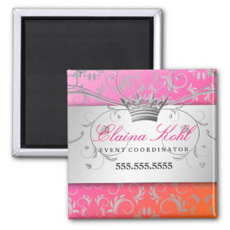 311-Silver Divine | Dreamsicle Business Magnet
