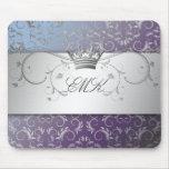311-Silver Divine Hydrangea mousepad