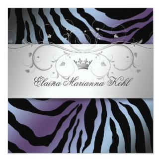 311-Silver Divine Hydrangea Sweet Sixteen Card