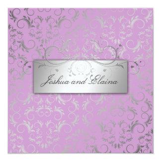 311 Silver Divine   Lilac Card