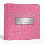 311-Silver Divine   Luscious Pink Binder