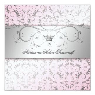 311-Silver Divine Sweet Pink Card