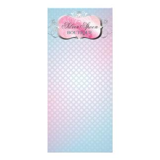 311 Silver Spoon Platter Rack Card