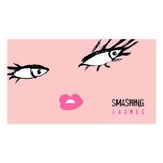 311-Smashing azota rosa del polvo Tarjetas De Visita