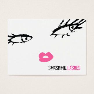 311-Smashing Lashes Chubby B Card