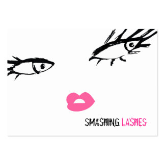 311-Smashing Lashes Chubby B Card Business Card Templates