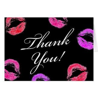 311 Smooch Kiss Thank You Card