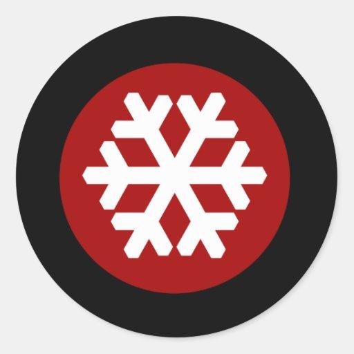 311-SNOWFLAKE STICKER 2