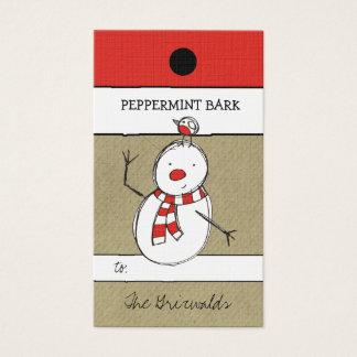 311-Snowman & Friend Hang Tag