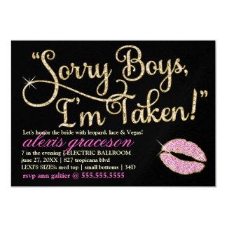 311 Sorry Boys I'm Taken Bachelorette 2 Kiss Card