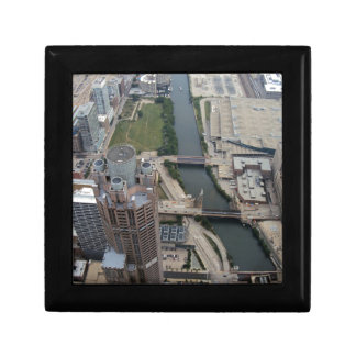 311 South Wacker Drive Chicago Trinket Boxes