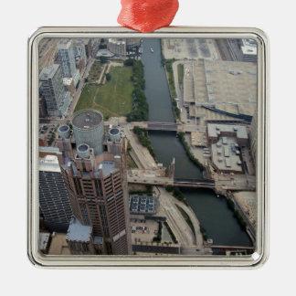 311 South Wacker Drive, Chicago Metal Ornament