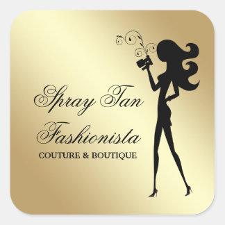 311 Spray Tan Fashionista Square Sticker