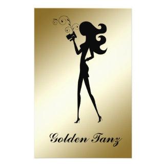 311 Spray Tan Flyer Gold