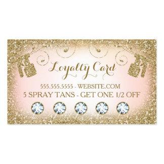 311 Spray Tan Loyalty Card Business Card