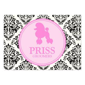 311 Srta. Priss Poodle Tarjetas De Negocios