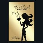 "311 Sun Kissed Spray Tan Flyer<br><div class=""desc"">Design by Jill McAmis,  copyright 2014.</div>"