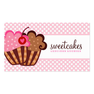 311 Sweet Cakes Cupcake Business Card