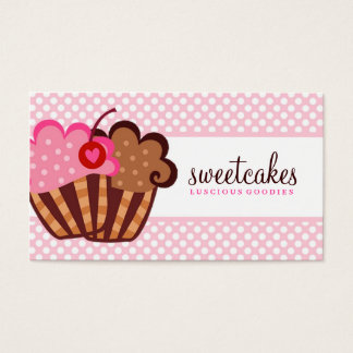 311 Sweet Cakes Cupcake Business Card