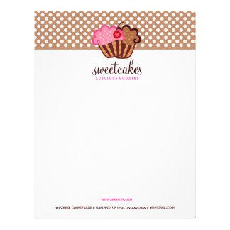311-Sweet Cakes Cupcake Letterhead