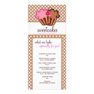 311 Sweet Cakes Cupcake Rackcard Rack Card