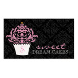 311 Sweet Dream Cakes Premium Pearl Paper Double-Sided Standard Business Cards (Pack Of 100)
