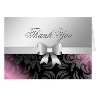 311 Sweet Molasses Bow Thank you Card