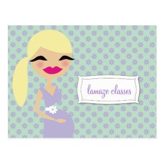 311-Sweet Mommy Lamaze Classes Postcard