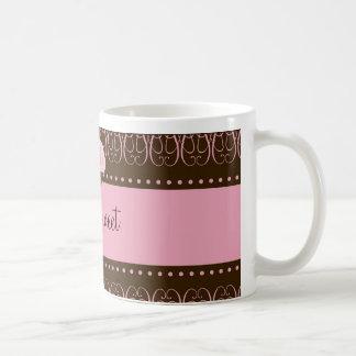 311 Swirly Brown rosado dulce Tazas De Café