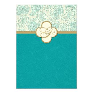 311 {TBA} Custom Order Myah Wedding Invitation