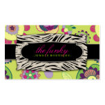 311 The Funky Jungle | Lime Flowers Business Cards