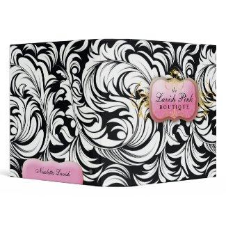 311-The Lavish Pink Plate Binder binder
