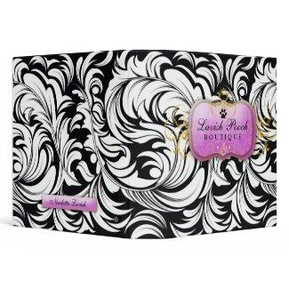311-The Lavish Pooch Binder | Purple binder