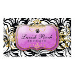 311-The Lavish Pooch | Purple Business Card Templates