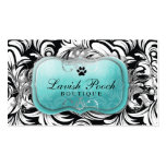 311-The Lavish Pooch Topaz Double-Sided Standard Business Cards (Pack Of 100)