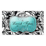 311 The Lavish Topaz Business Card Template