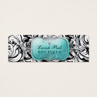 311 The Lavish Topaz Hang Tag Business Card